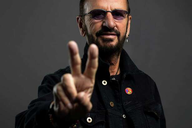 Ringo Starr poses on June 13, in New York. Starr is on a U.S. tour with his All-Starr band, which wraps on July 2 in Los Angeles. He turns 76 on July 7.