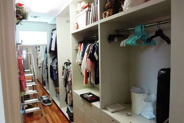 """AFTER: Homeowner Cindi Snell said she has """"the coolest closet ever."""""""