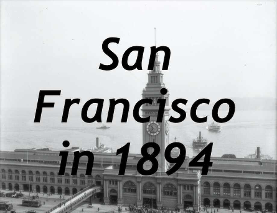 Curious German booklet from 1894 shows long-lost San Francisco scenes
