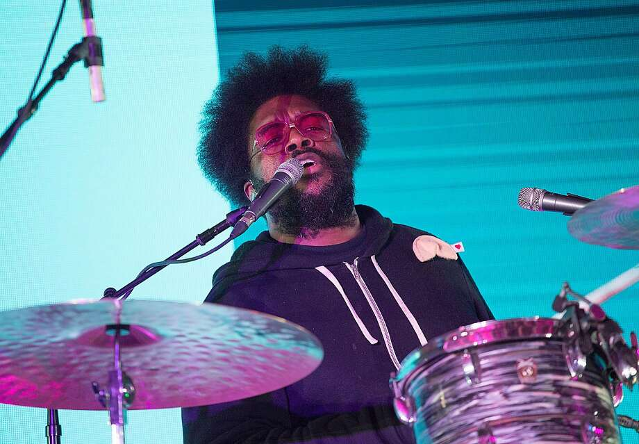 AUSTIN, TX - MARCH 19:  Questlove of The Roots brought their legendary Jam Sessions to SXSW for the first time during an exclusive performance at the Bud Light Factory during the Bud Light Music Showcase on March 19, 2016 in Austin, Texas. Bud Light - Americas most popular and inclusive beer brand, and first time sponsor of South By Southwest� - transformed Austins Brazos Hall into the Bud Light Factory, bringing exclusive performances to SXSW attendees from March 16-19.  (Photo by Rick Kern/Getty Images for Bud Light) Photo: Rick Kern, Getty Images For Bud Light