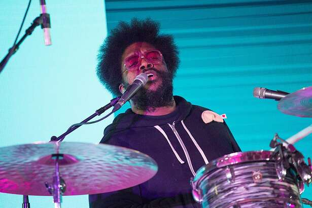 AUSTIN, TX - MARCH 19:  Questlove of The Roots brought their legendary Jam Sessions to SXSW for the first time during an exclusive performance at the Bud Light Factory during the Bud Light Music Showcase on March 19, 2016 in Austin, Texas. Bud Light - Americas most popular and inclusive beer brand, and first time sponsor of South By Southwest® - transformed Austins Brazos Hall into the Bud Light Factory, bringing exclusive performances to SXSW attendees from March 16-19.  (Photo by Rick Kern/Getty Images for Bud Light)