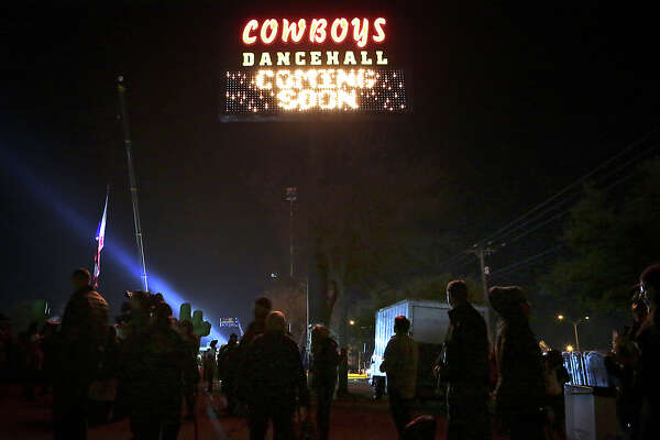 Tens of thousands attend the annual Cowboy Breakfast at Cowboys Dance Hall on Friday, January 29, 2016. The dancehall filed for Chapter 11 bankruptcy in U.S. federal court on Friday.