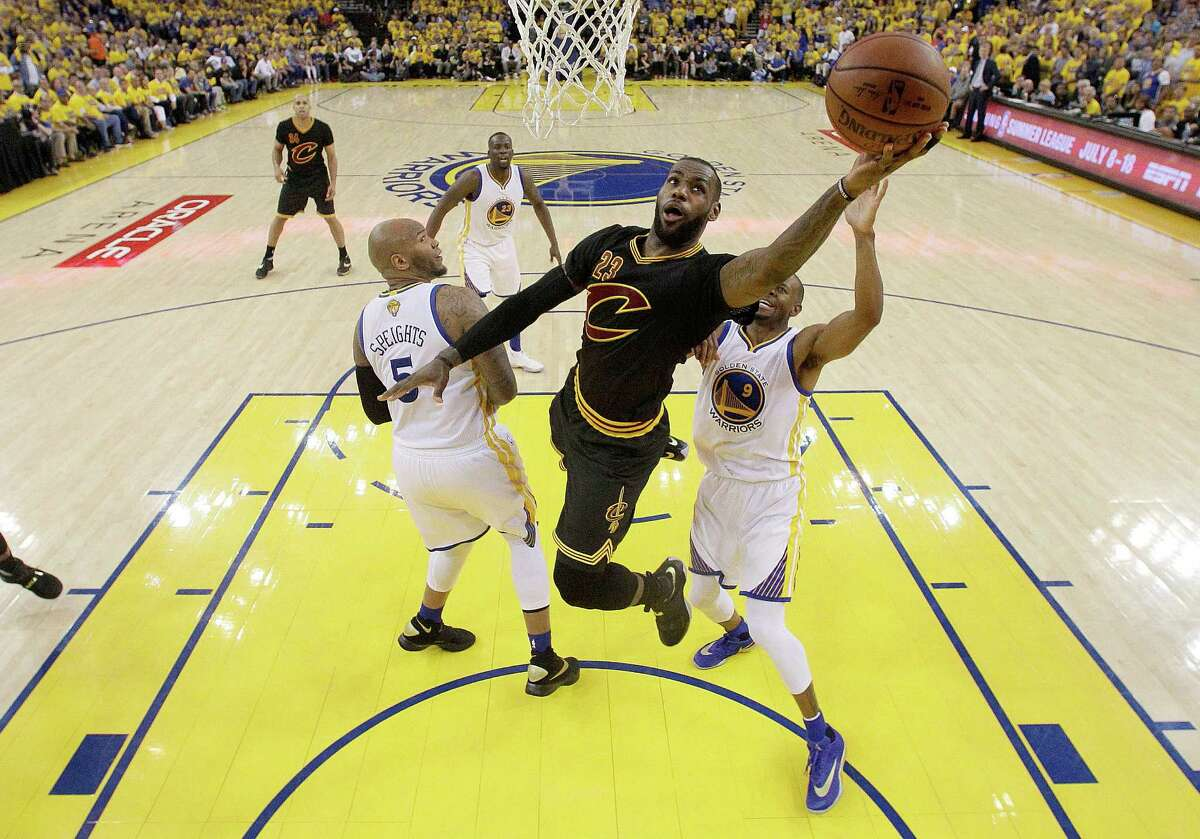 LeBron Jamesdrives for a layup against the Golden State Warriors in Game 7 of the 2016 NBA Finals. James provided plenty of thrills as he led the Cleveland Cavaliers to the championship, but a fan says the NBA is just not what it used to be.