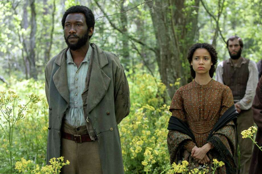 """The movie """"Free State of Jones, starring Mahershala Ali (left) and Gugu Mbatha-Raw, was full of potential; instead, many elements strike a sour chord. Photo: STX Productions / STX Productions"""