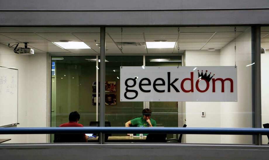 Build Sec Foundry, a new cybersecurity incubator, will be located at the Geekdom co-working space in the growing downtown Tech District. Photo: Carolyn Van Houten /San Antonio Express-News / 2015 San Antonio Express-News