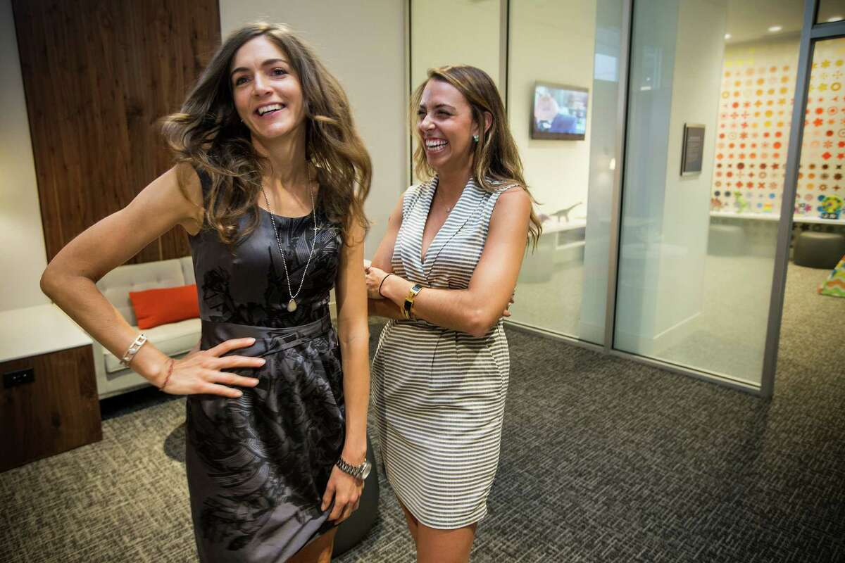 Party goers enjoy the preview party for the American Express Centurion Lounge.