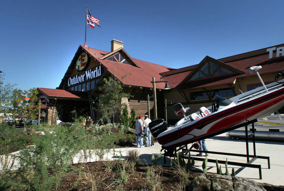 A Bass Pro Shop in San Antonio is pictured Tuesday, Oct. 17, 2006.