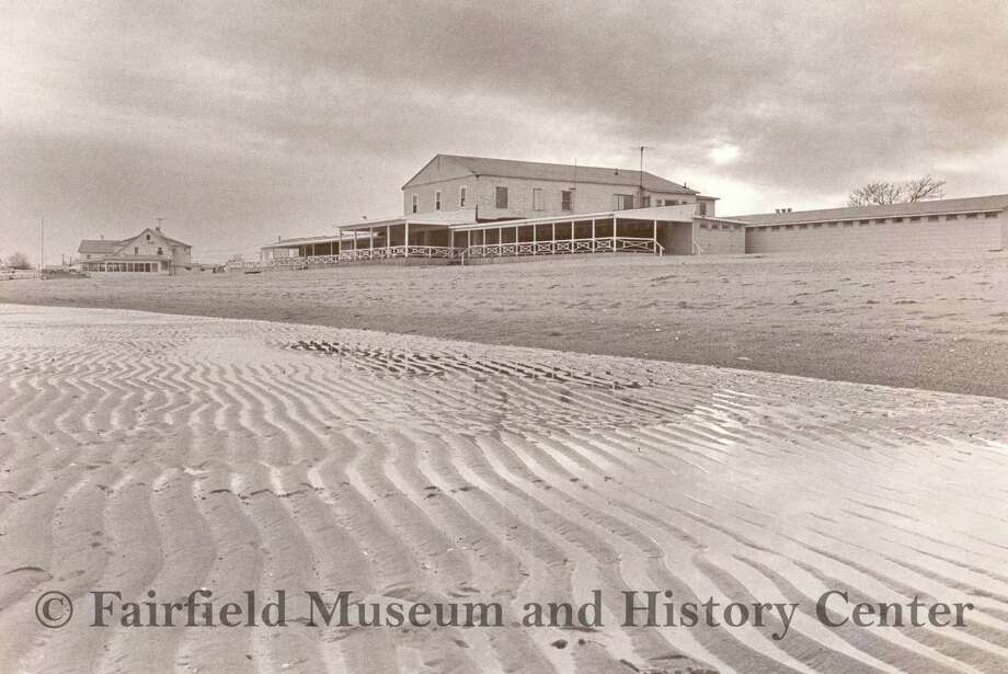 A 1976 photo of the original Penfield Pavilion, which started as a private club known as Sunhaven Beach Club. The town bought the property in April of 1976. Fairfield, CT. June 24, 2016 Photo: Fairfield Museum And History Center / Hearst Connecticut Media / Fairfield Citizen contributed