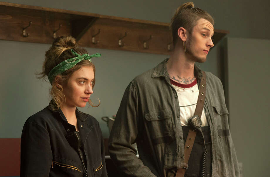 Imogen Poots and Colson Baker play a sister and brother with jobs on the tour. Poots' Kelly Ann is weighing an opportunity to go to New York to study film. Photo: Neal Preston/SHOWTIME / Copyright:  2016 Showtime