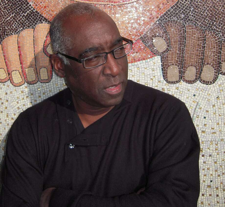 Michael Warr is co-editor of a Norton Anthology featuring dozens of African American poets. Photo: Patricia Zamora