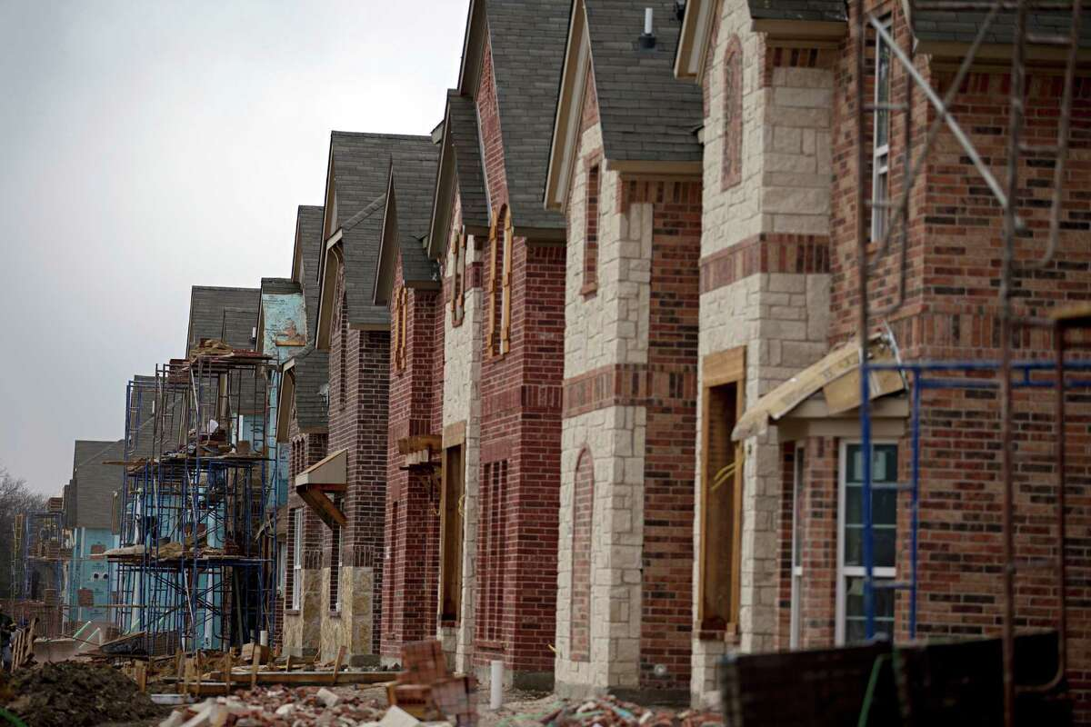 In Dallas-Ft. Worth, the average new home price for June was $373,960 versus $375,186 for May.(G.J. McCarthy/The Dallas Morning News/TNS)