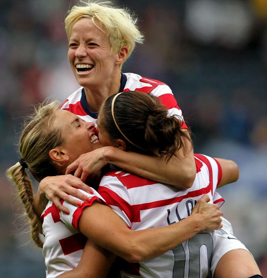 Megan Rapinoe, 30, is a staple of the women's national team.  Photo: Lynne Cameron, ASSOCIATED PRESS