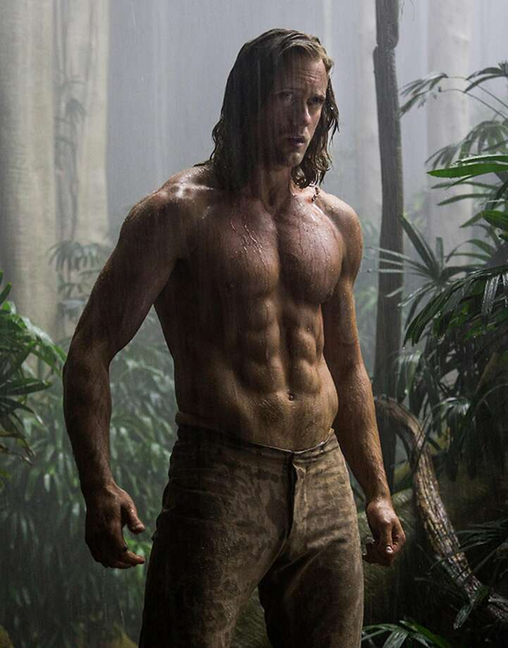 "Alexander Skarsgard in ""The Legend of Tarzan."" Photo: Jonathan Olley/Warner Bros, TNS"
