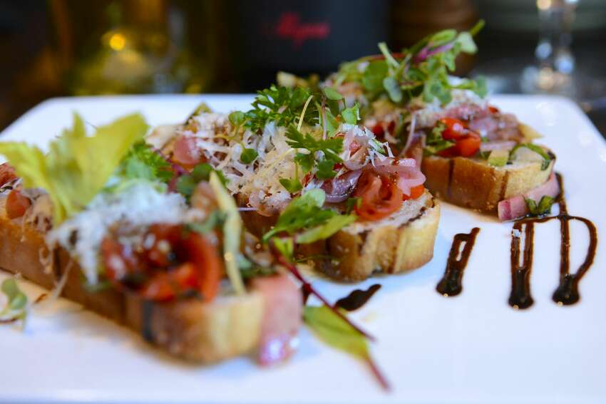 Bruschetta on the new summer menu at Zocca in the Westin Riverwalk.