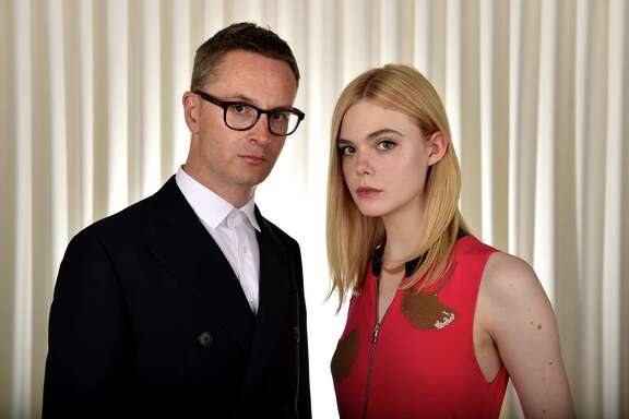 Director Nicolas Winding Refn and actress Elle Fanning