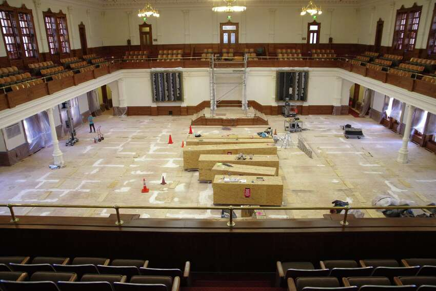 The State Preservation Board has undertaken two multi-million dollar projects in 2016 to preserve the exterior and interior of the Texas Capitol Building.