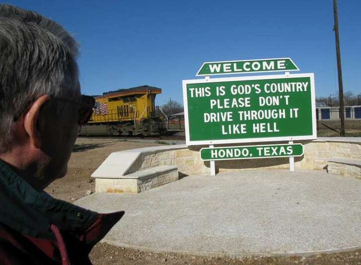 "Hondo's ""God's Country"" signs are the target of a Wisconsin group that wants to see these come down."