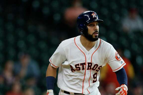 Marwin Gonzalez, whose value to the Astros has been in the number of positions he play well defensively at, has been on a hitting tear of late while mostly filling in at first base. He's hitting .333 over the last 20 games.