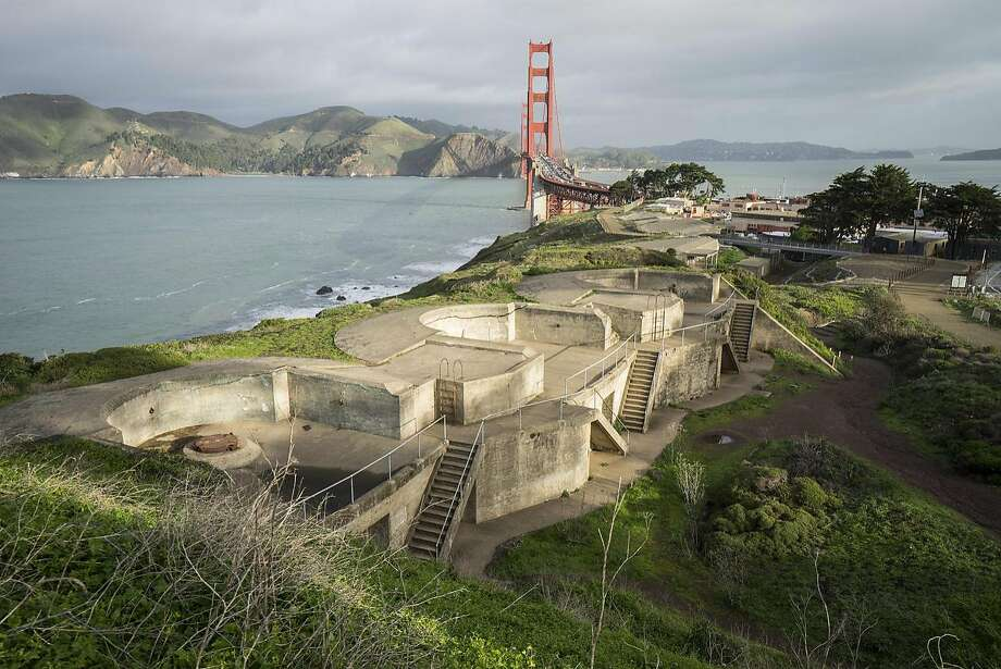 1.�� �Battery Boutelle, one of five Home Land Security exhibition sites overlooking the Golden Gate Bridge; photo: Nina Dietzel Photo: Nina Dietzel