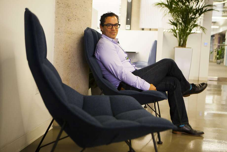 Manuel Medina's work-flow startup Outreach has drawn a $17.5 million investment from a Microsoft venture fund. Photo: Michael Noble Jr., The Chronicle