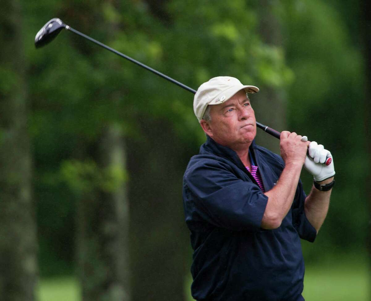Al Oliva will look to retain his senior title of the Greenwich Town's Men golf Tournament played at Griffith E. Harris Golf Course in Greenwich this weekend.