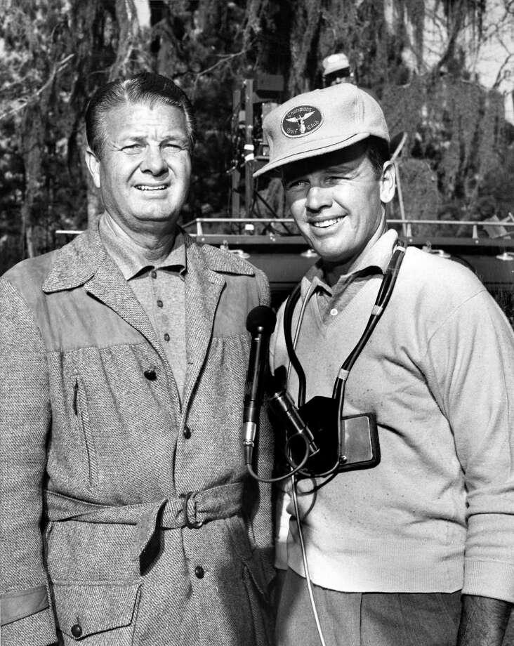 04/1962 - golfesr Jimmy Demaret and Jack Burke / Houston Chronicle