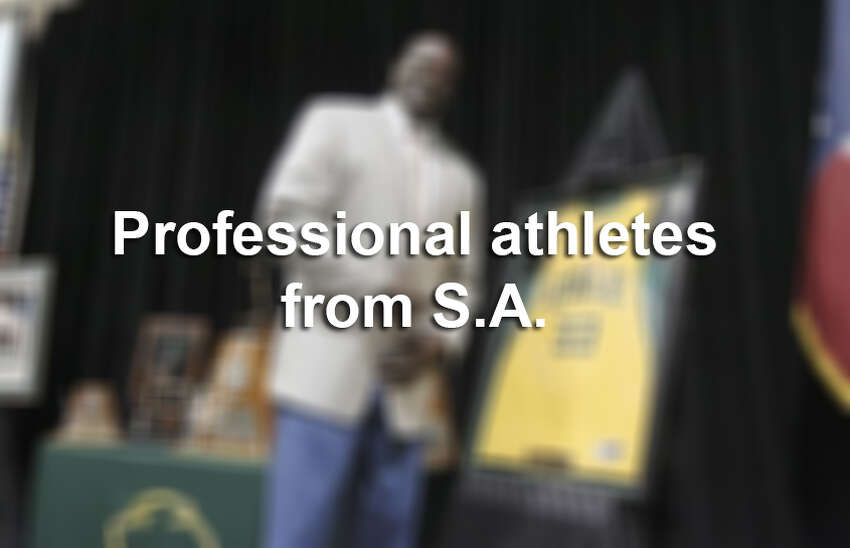 A number of athletes call San Antonio their hometown. Click ahead to see which professional athletes went to high school in the Alamo City >>>