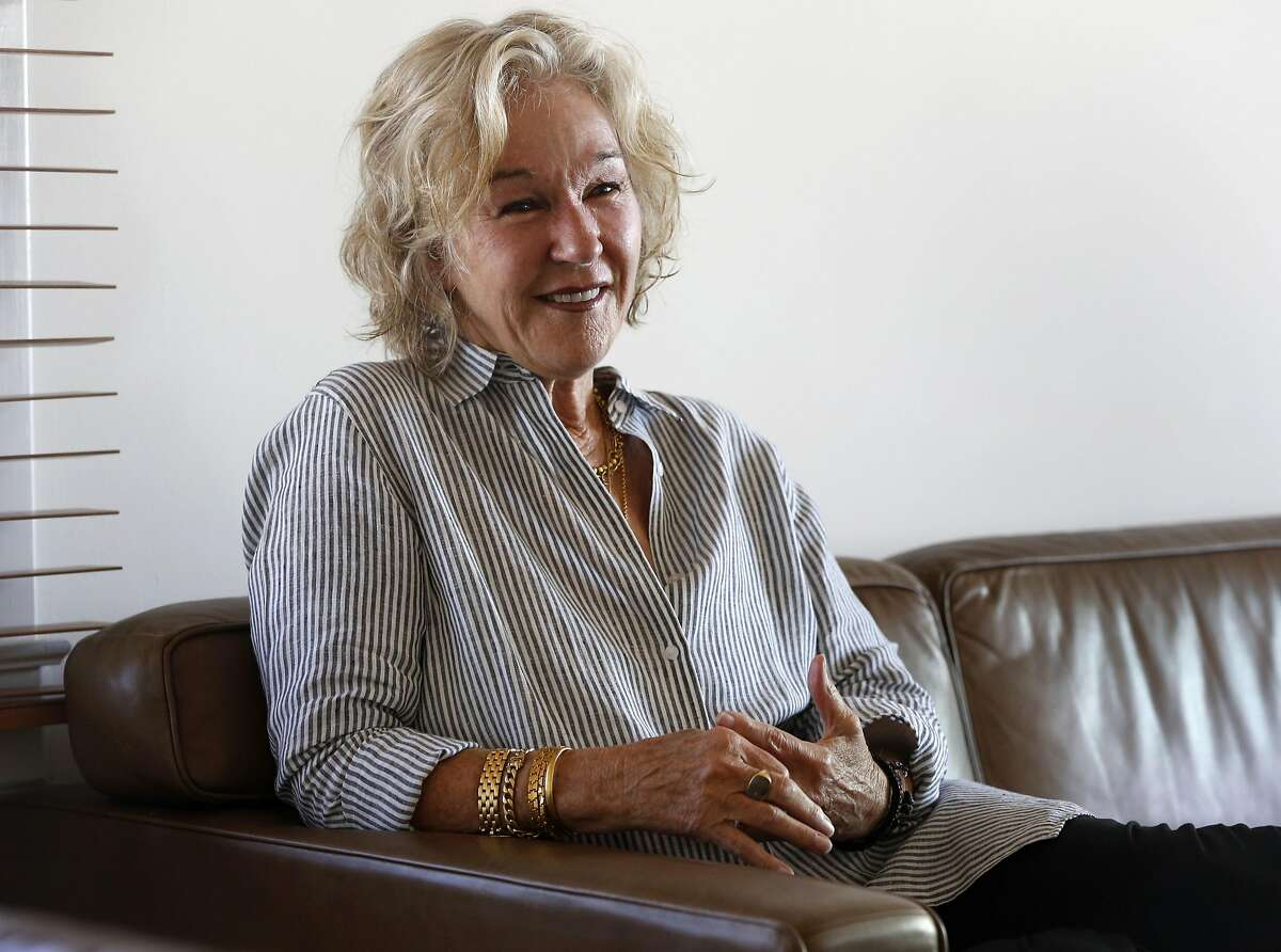 Susie Tompkins Buell in her home in San Francisco, California, on Thursday, June 23, 2016.