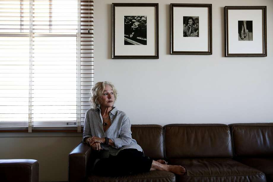 Susie Tompkins Buell in her home in San Francisco.