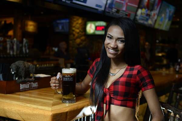 Brittany Richmond is a bartender at Twin Peaks restaurant in Beaumont. Photo taken Wednesday 6/15/16 Ryan Pelham/The Enterprise