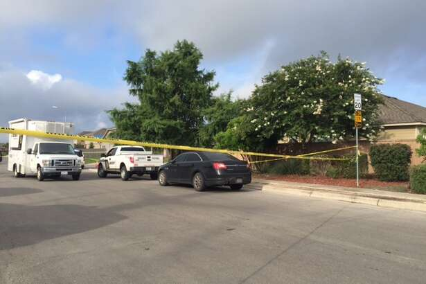 Bexar County Sheriff's deputies are investigating a body found in the middle of the street in the 8000 block of Binz-Engleman Road June 24, 2016.