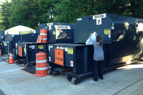 The New Milford recycling center