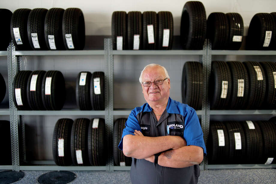 BRITTNEY LOHMILLER | blohmiller@mdn.net DeWayne Cassiday is retiring from Midland Ford after working at the auto dealership for 48 years.