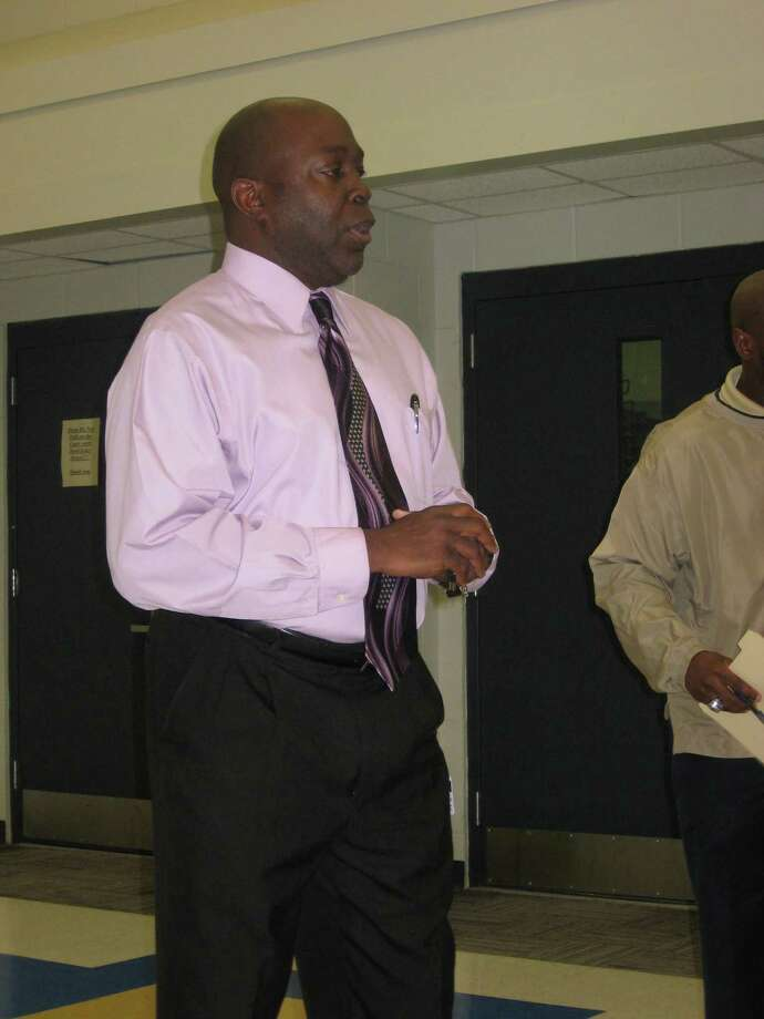 BISD athletic director Rodney Saveat was reassigned as the district's Supervisor of Health. Bruce Bell,former North Texas running backs coach and Spring ISD athletic director, is the district's interim athletic director for the 2016-17 school year. Photo: David Henry