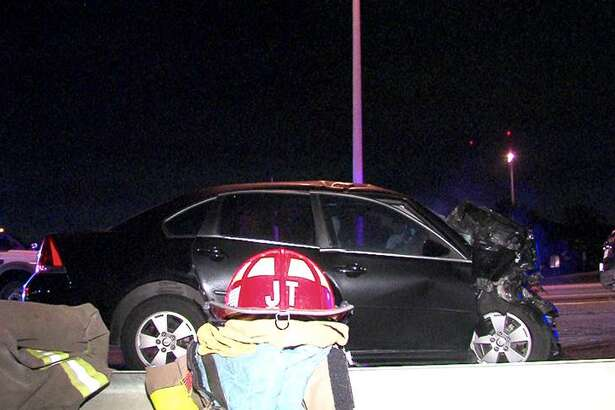 A woman was hit by a wrong-way driver early Friday morning around 3:40 a.m., according to police.