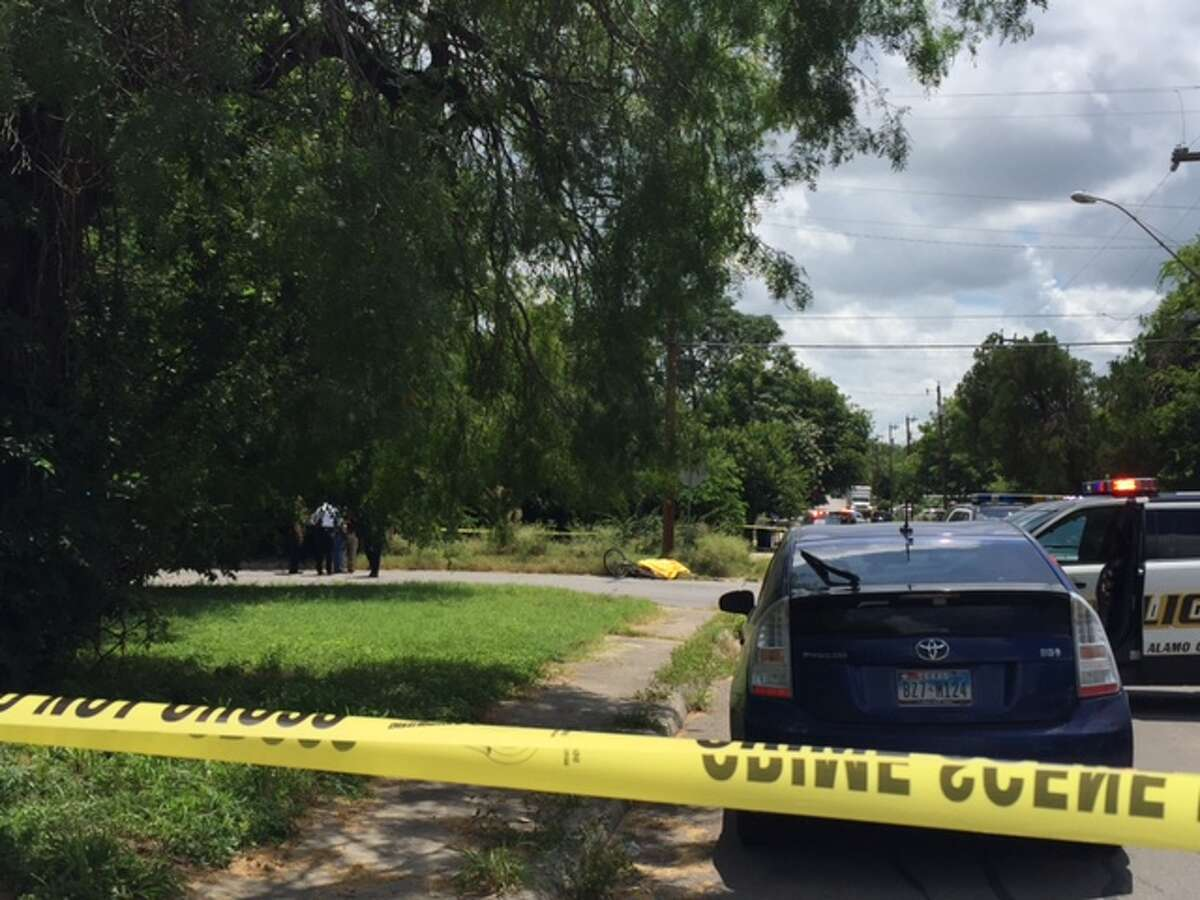 San Antonio emergency crews responded at around 11:45 a.m. to a shooting near the intersection of Dorie and Lone Oak Streets.