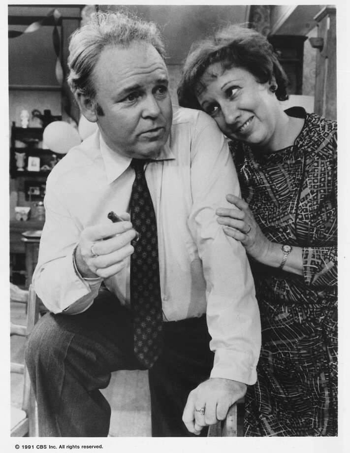 "Carroll O'Connor and Jean Stapleton in ""All in the Family,"" which ran from 1971 to 1979. Photo: Tony Esparza, CBS Inc. C1991"