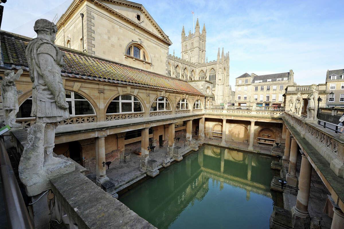 Roman Baths:Stall St, Bath BA1 1LZ, United Kingdom