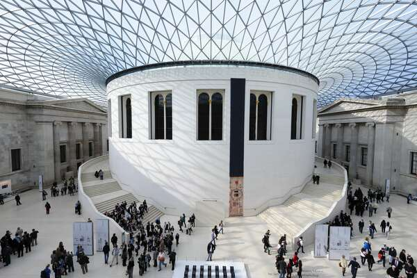 Great Court, British Museum:  Great Russell St, London WC1B 3DG, United Kingdom