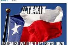 Some people take the idea of a Texas secession as a joke.