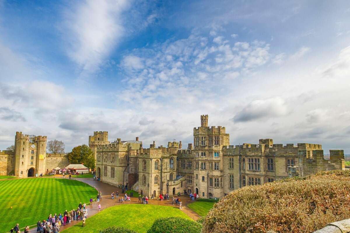 Warwick Castle:Warwick CV34 4QU, Warwickshire, United Kingdom