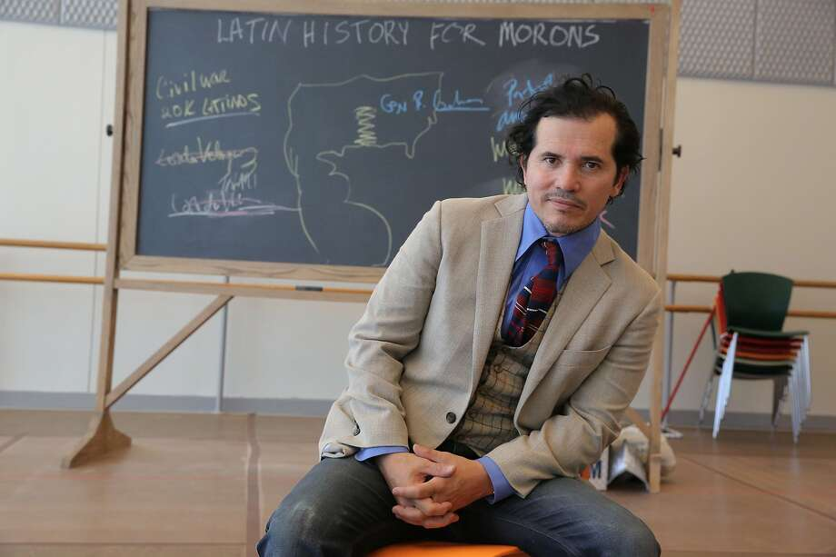 "John Leguizamo brings his ""Latin History for Morons"" to Berkeley Rep. ""John's show is about who writes history,"" says Tony Taccone, artistic director. Photo: Joan Marcus / Berkeley Rep"
