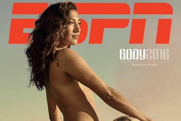 Christen Press in the ESPN The Magazine Body Issue.