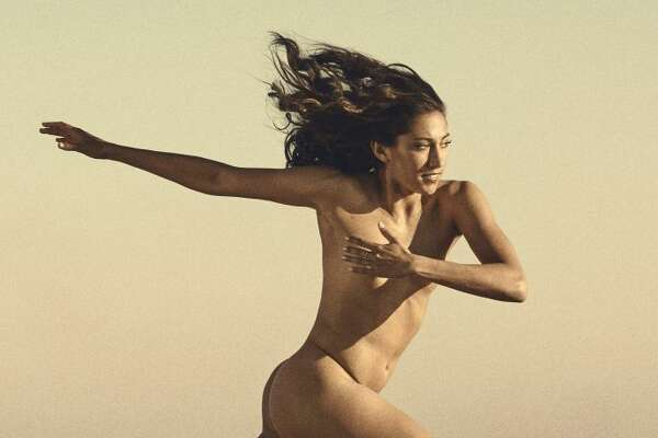 Christen Press in the ESPN The Magazine Body Issue.