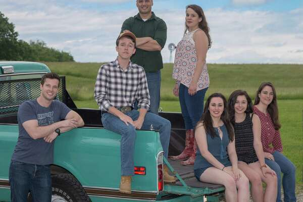 """Musicals at Richter continues its 2016 season with """"Footloose,"""" Friday, July 1, through Saturday, July 16. Above is a cast shot."""