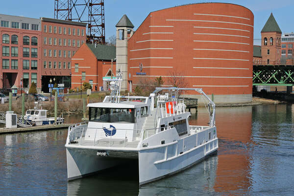 The Maritime Aquarium at Norwalk's R/V Spirit of the Sound, a new 64-foot all-aluminum catamaran, will host Fireworks Cruises, from Thursday, June 30, through Monday, July 4.
