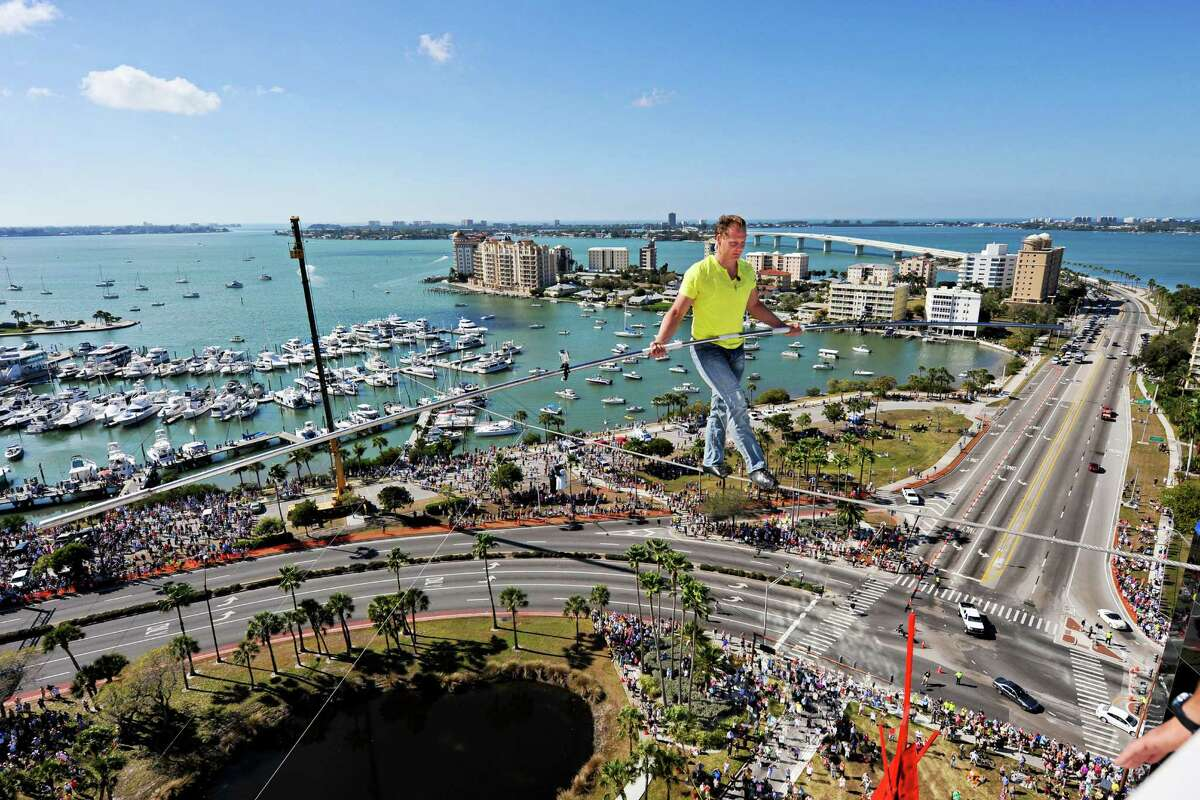 """Nik Wallenda brings his """"Zirkus"""" to Foxwoods Resort and Casino on Friday, Saturday, and Sunday. Find out more."""