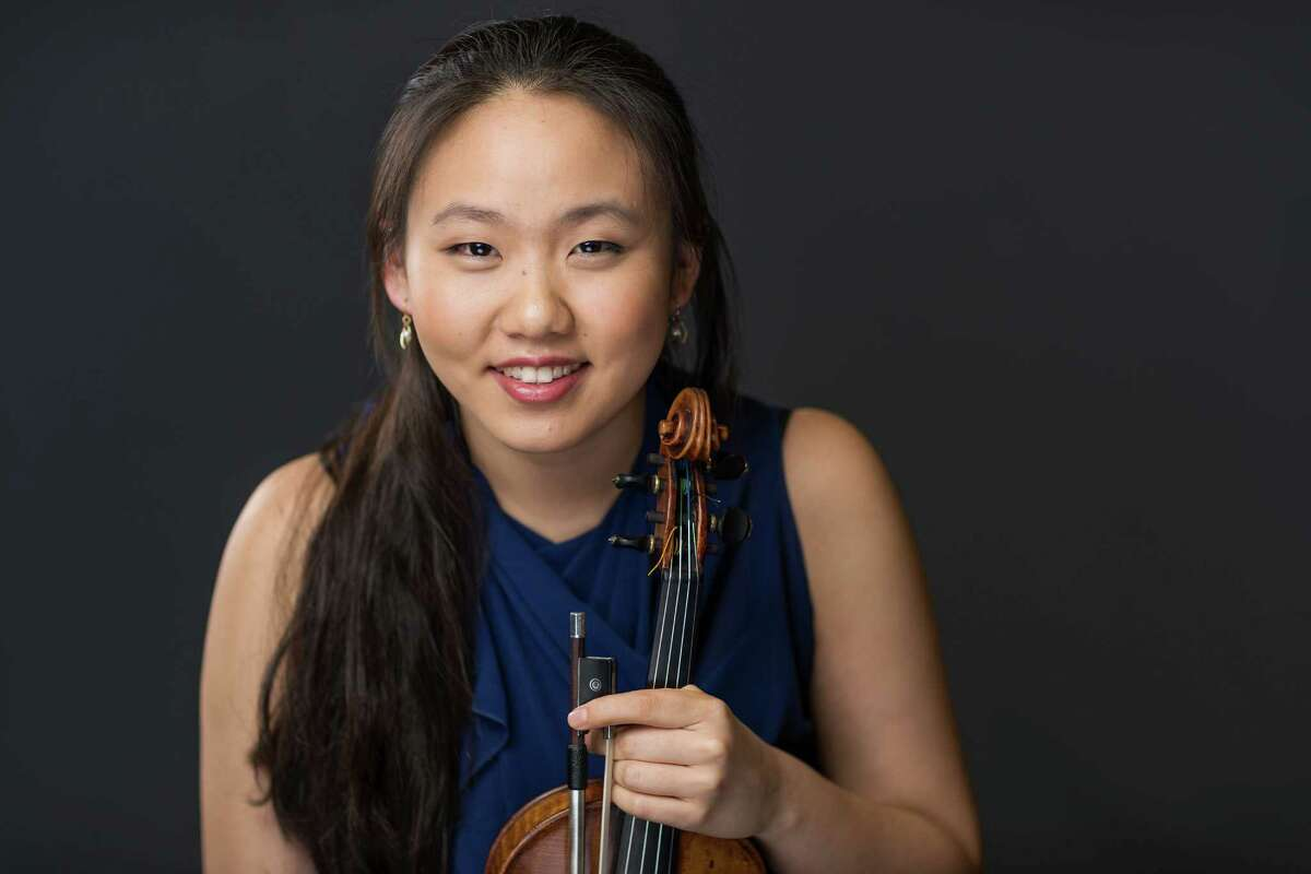 Violinist Stella Chen and pianist Alex Beyer join forces at a concert on Wednesday, July 6, to benefit musical programs at the Pequot Library in Fairfield's Southport section.