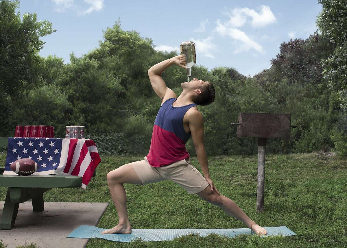Kelly Lazzara demonstrates the Advanced Weekend Warrior post from the book