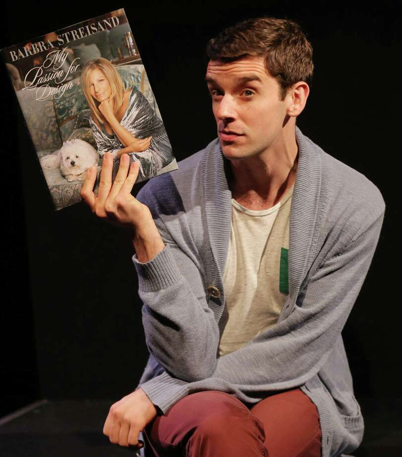 """The play """"Buyer and Cellar"""" comes to the Westport Country Playhouse, starring Michael Urie as an out-of-work actor tasked with minding Barbra Streisand's private basement shopping mall. The play is fiction, but the mall really exists. Photo: Joan Marcus / Contributed Photo / ©2013, Joan Marcus"""